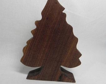 Wooden Evergreen Tree
