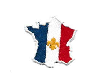 France Flag Patch! 2.5 and 4 inch F37
