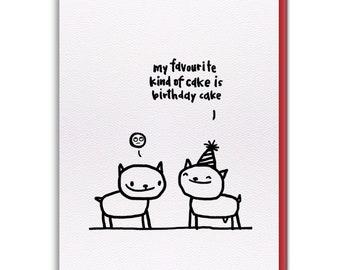 Card - Birthday Cake