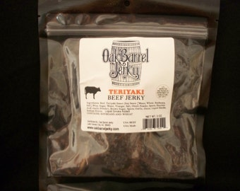Teriyaki Steak Cut Beef Jerky