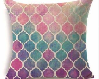 Ombre Design Pillow Cover