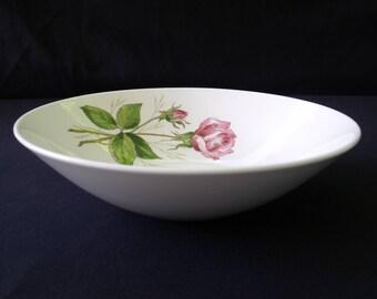"Knowles Tea Rose 8"" Round Vegetable Bowl"