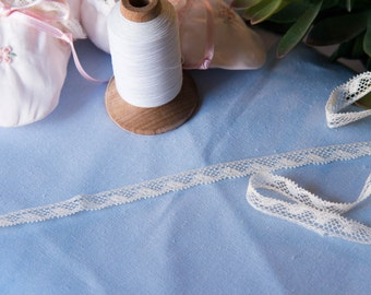 """French Valenciennes Lace- (LFV38EDG036)3/8"""" edging"""
