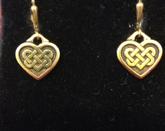 My Celtic Heart Earrings