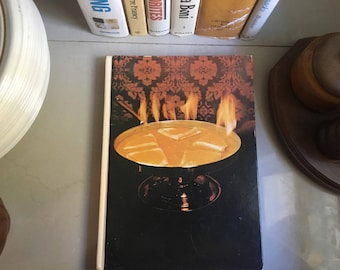 Southern Living The Fondue and Buffet Cookbook, 1976 / Southern Cooking Recipes / Southern Living Cookbook / Vintage Recipes / Fondue Recipe