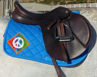 Be Determined! English Saddle Pad from The Summer Love Collection and Be Happy! LA-78