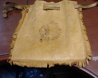 Handmade leather bags autoctonne (Pochette)
