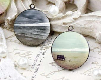 Photo Print Art Necklace. Custom Photography Necklace. Wearable Art Pendant. Picture Necklace. Handmade Pendant. Handmade Jewelry.