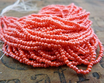Seed Bead Pink Coral Luster Size 12 Seed Bead SB1180
