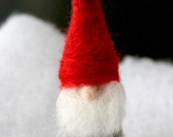 Waldorf Gnome, RSVZ Man, vilten Gnome, tomte, kerst ornament