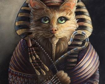 King Tutankhameow