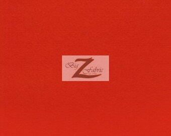 """Solid Acrylic Felt Fabric - RED - Sold By The Yard - 72"""" Width"""