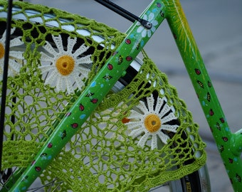 "Bicycle skirt guard ""Daisy"""
