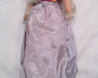 Vintage 1960's Greek Doll 10""