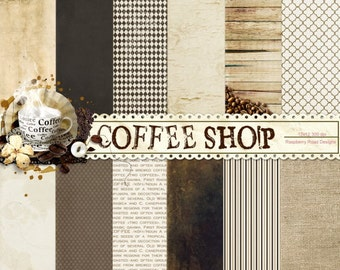 Coffee Shop Paper Set