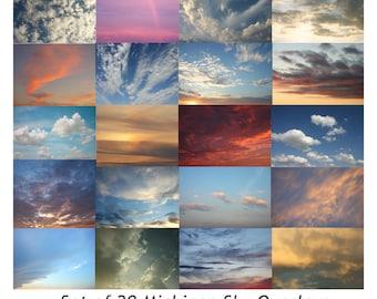 Sky Overlay, Spring Overlay,  Skies Overlay, Cloud Overlay, Sunset Overlays