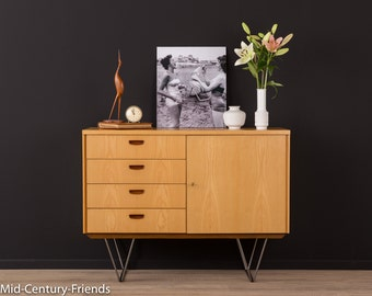 60s chest of drawers, sideboard, 50s, WK, vintage (608041)
