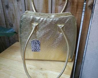 70s/80s Golden pixle Seventh Avenue handbag