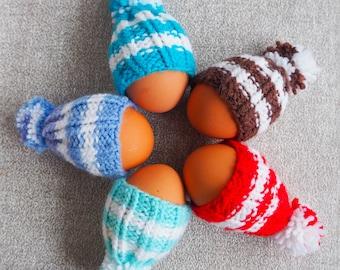 Easter egg hat / Knitted easter egg hat / Egg cozy / Easter gift / Egg warmer / Easter decor / Easter table decor / Easter egg cosy