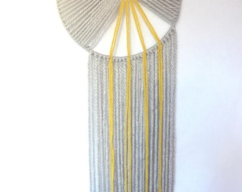 Wool wall hanging