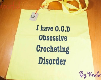 Tote bag - I have OCD