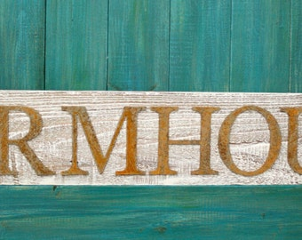 Farmhouse Sign, Reclaimed wood sign, Farmhouse Decor, Fixer Upper Style