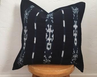 Ikat Woven Pillow Cover