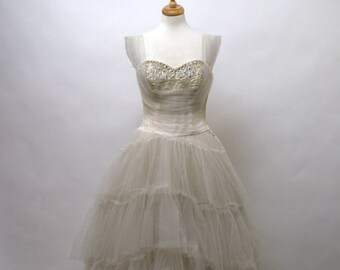 1960's Emma Domb Wedding Gown