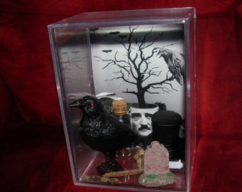 Mr Edgar Allan Poe inspired by Listing ,,you get all you see here....Adult Handled......