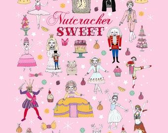 Nussknacker süßes Poster