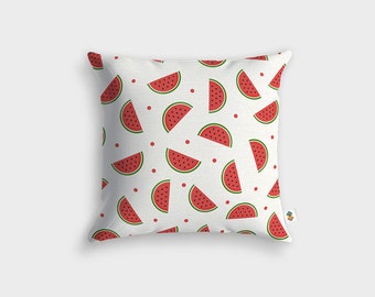 Watermelon Design cushion - Made in France - 45 x 45 cm
