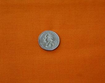 """2 5/8 Yds x 44"""" Wide Pumpkin Orange Cotton Fabric"""