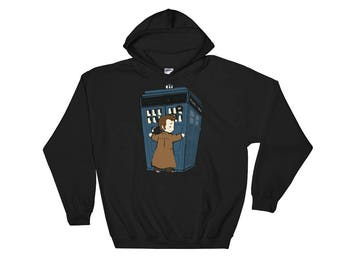 Doctor Who Tardis Hooded Sweatshirt