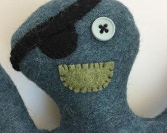 Pirate Art Doll - Blue