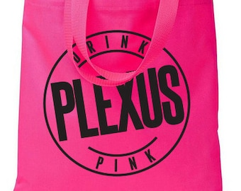 Drink Pink Plexus Hot Pink Shopper Tote Bag - 73461AO