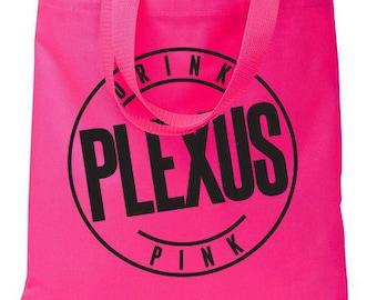 Drink Pink Plexus Hot Pink Shopper Tote Bag - 73461AO