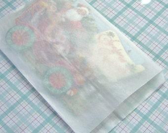 40 Qty 5x7 Glassine Bags actual size 5.5 x 7.75 inches