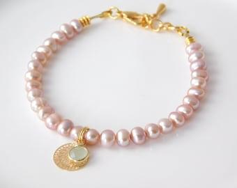 PEARLS bracelet fresh water pearls