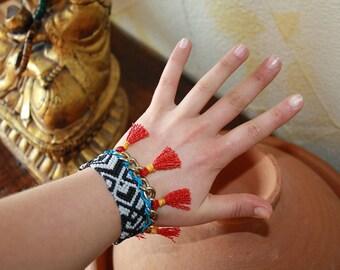 Gypsy tribal ethnic bracelet bracelet
