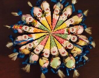 15 x Personalised Children's Sweetie Cones