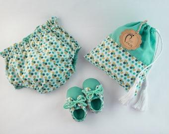 Baby reversible bloomer panties