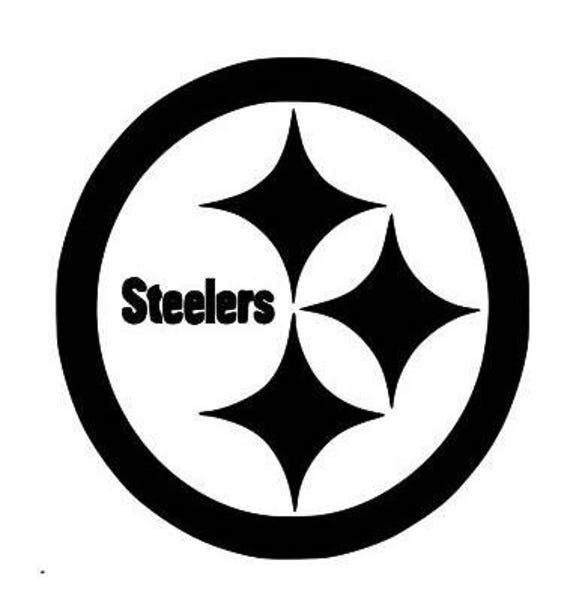 Pittsburgh Steelers, football decal, Steelers decals, Pittsburgh decals, sports decals, cup decals Football, Steelers football, villanueva