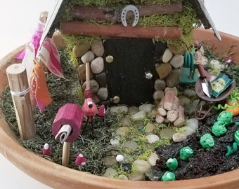 Handmade Fairy house - Fairy Garden  333 Colorado Way