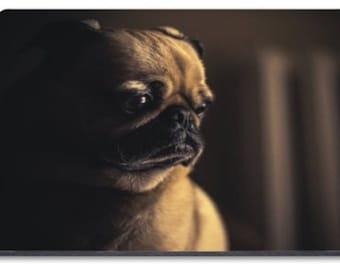 Pug Thinking  Mousemat