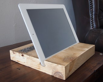 Reclaimed Wood iPad/Tablet Stand