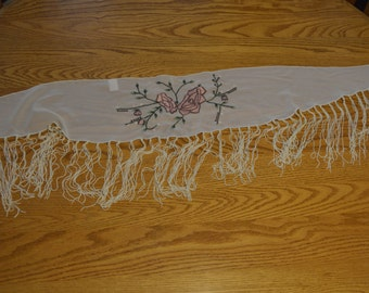 1970's Embroidered Pashmina