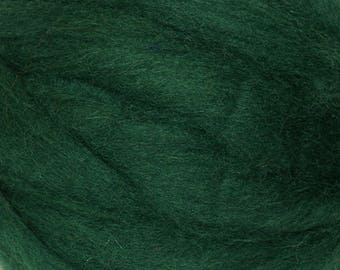 Winter Green Romney Wool Roving for Needle Felting One Ounce