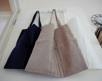 High quality pure linen bags