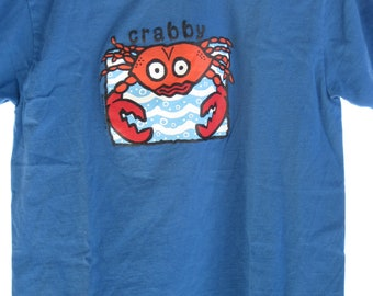 Vintage Hanes.... Crabby t-Shirt... Men's szS (34/36) .#84...never worn