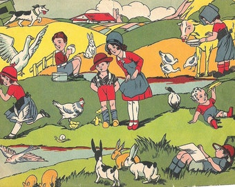 Country life 1920 1930 illustration
